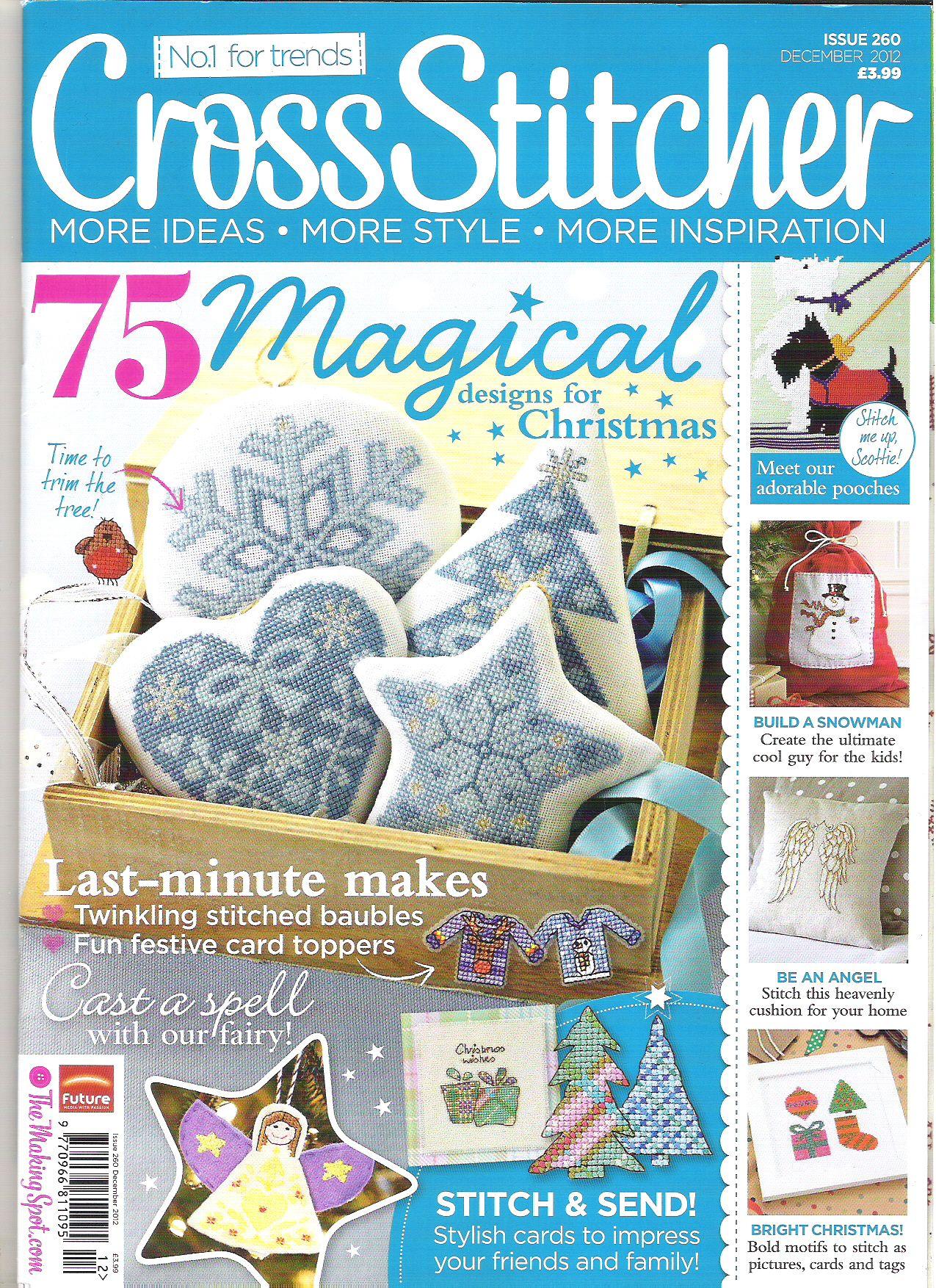 Cross Stitcher Magazine - December 2012 260 - CrossStitcher
