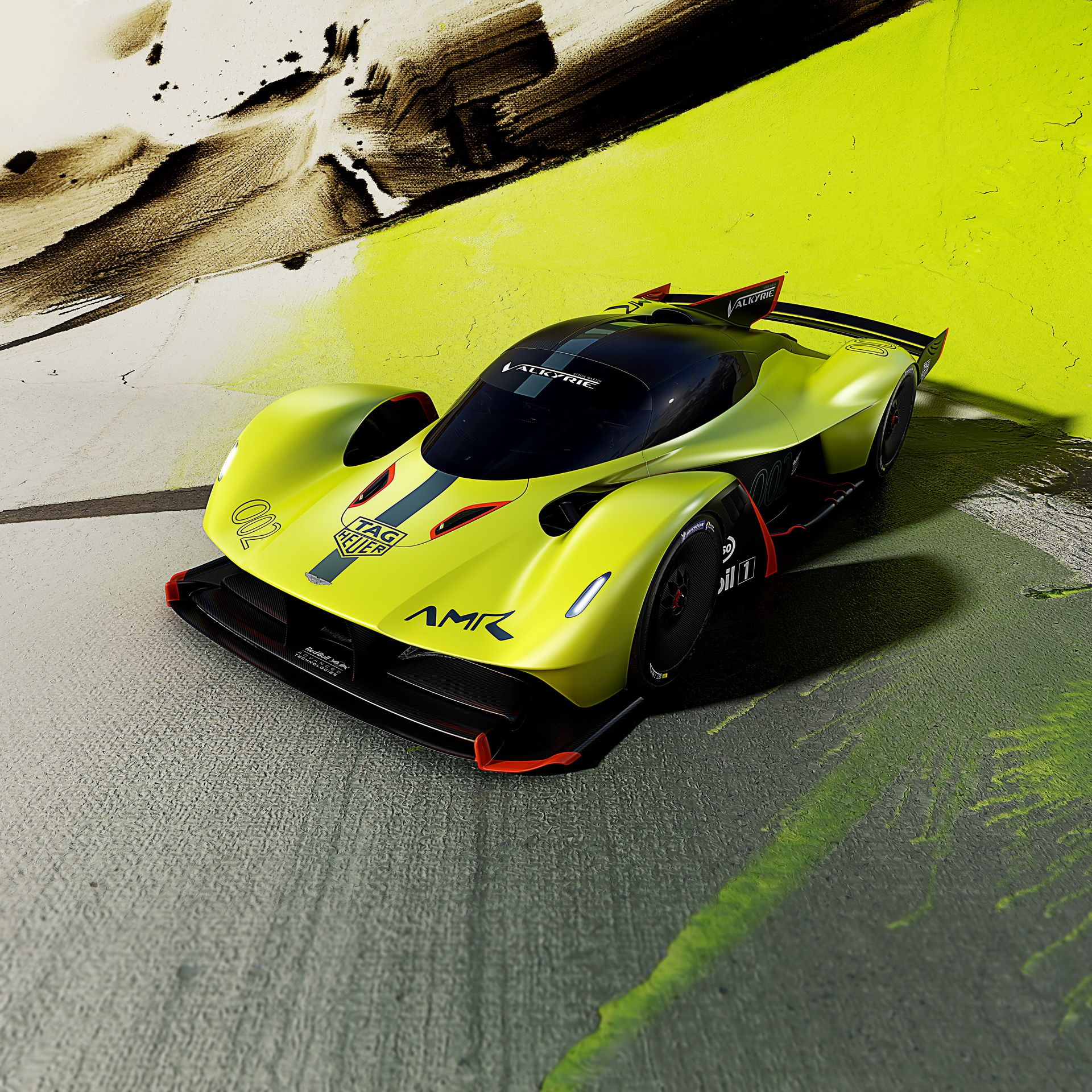 Aston Martin Valkyrie AMR Pro Is A Hybrid Track Beast With