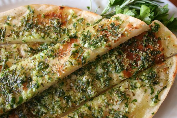 DELISH!  herb and garlic pizza sticks
