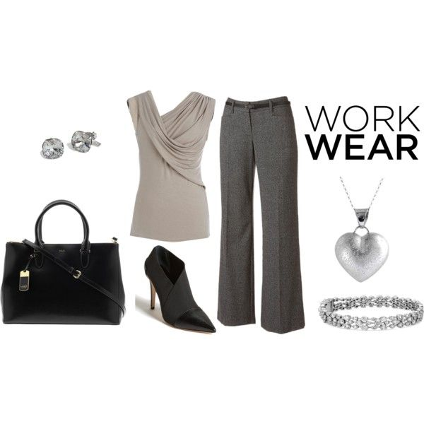 """simple office look"" by citas on Polyvore"