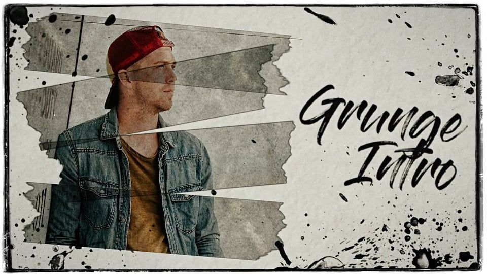 Grunge Intro Premiere Pro Templates on Vimeo | Motion design ...