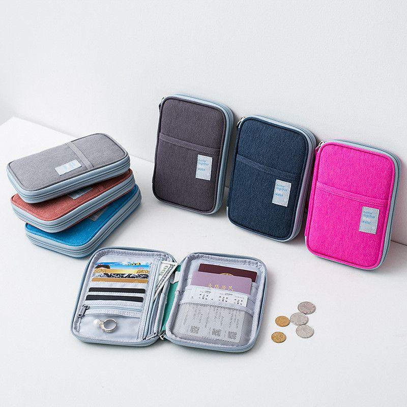 Waterproof Passport Cover Travel Wallet Document Passport Holder ...