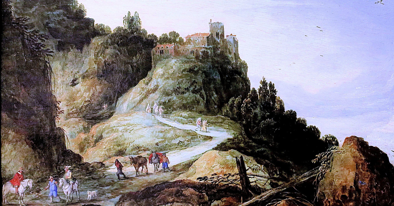 Joos de Momper - Mountain landscape.