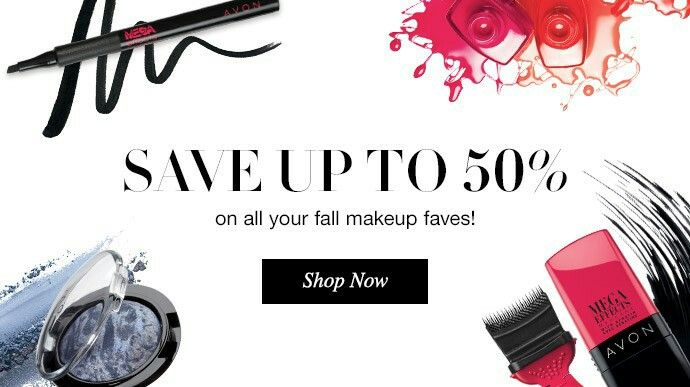 Up to 50% OFF YOU FALL MAKEUP!! THAT'S NOT ALL, YOU GET FREE SHIPPING WITH YOUR ONLINE ORDER OF $40 OR MORE!!