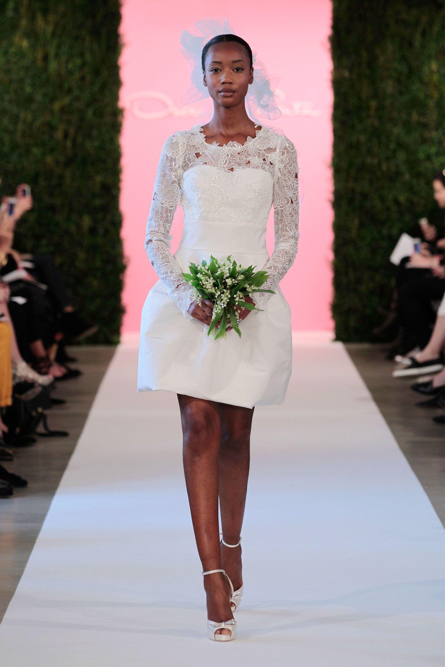 Best in bridal spring wedding trends oscar de la renta