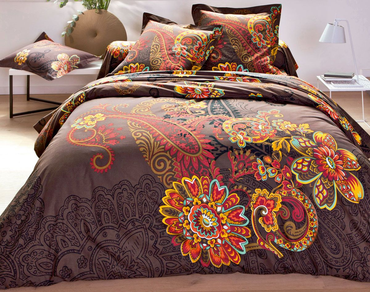 linge de lit motifs perse becquet pinterest sons lights and articles. Black Bedroom Furniture Sets. Home Design Ideas