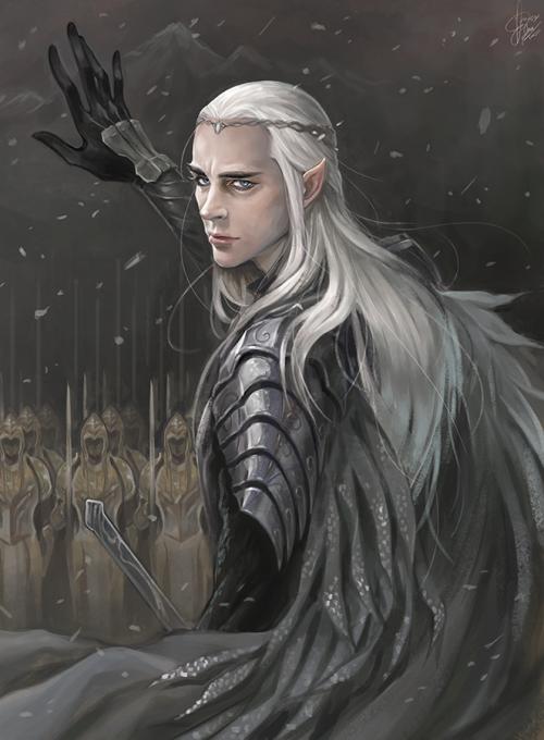Hobbit 3 Thranduil King Of The Wood Elves Tolkien Hobbit