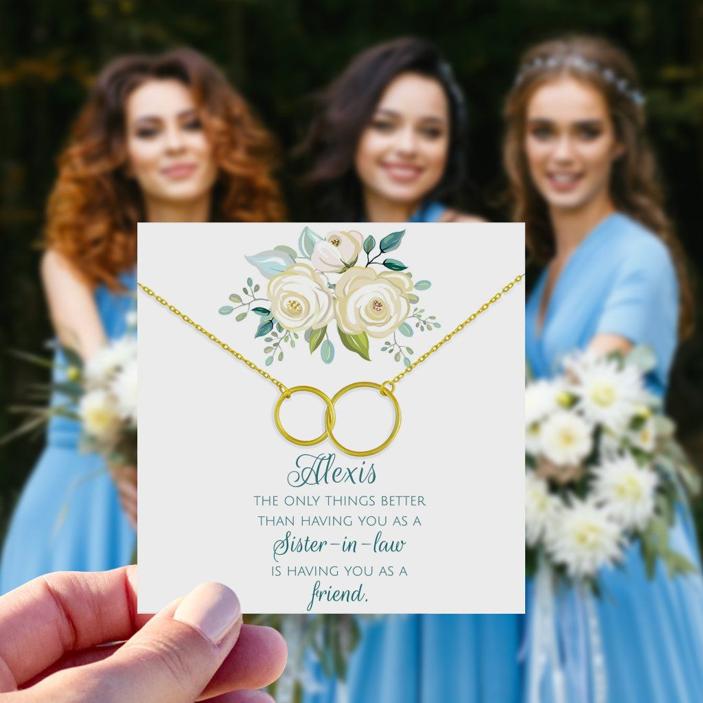 Personalized Gifts For Sister In Law 2021