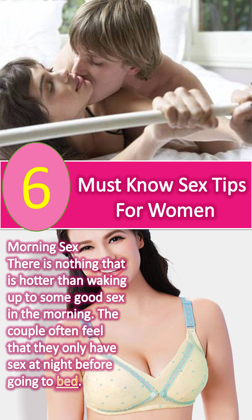Amazing sex tips for women