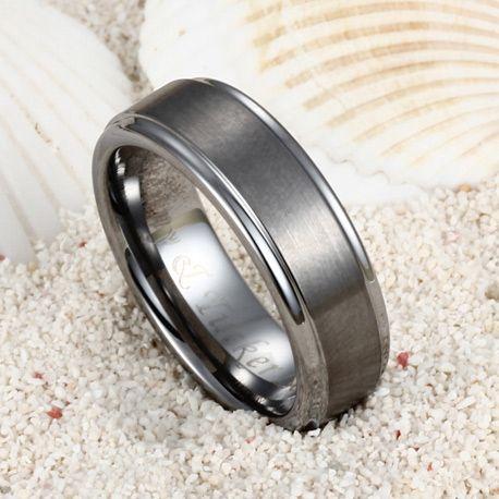 Pin By Tungsten Republic On Tungsten Wedding Bands Pinterest