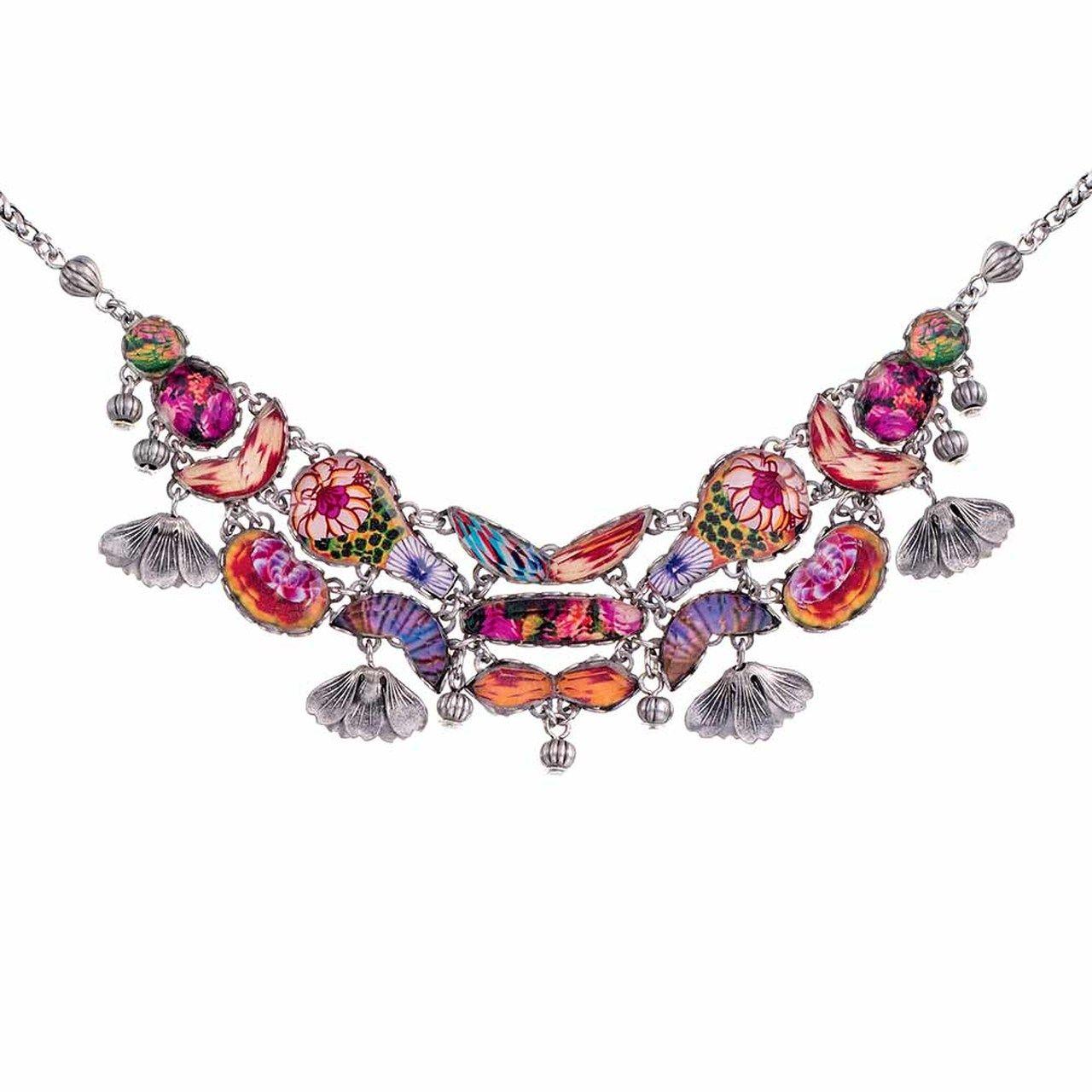 Ayala Bar Electric Ladyland Rainbow Necklace Rainbow Necklace Bar Jewelry Bar Necklace