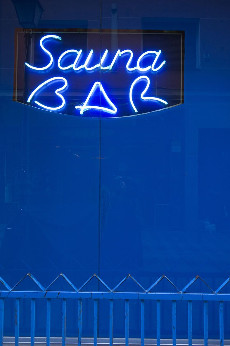 Sauna Bar, Madrid 2013 © Gloria Rodriguez