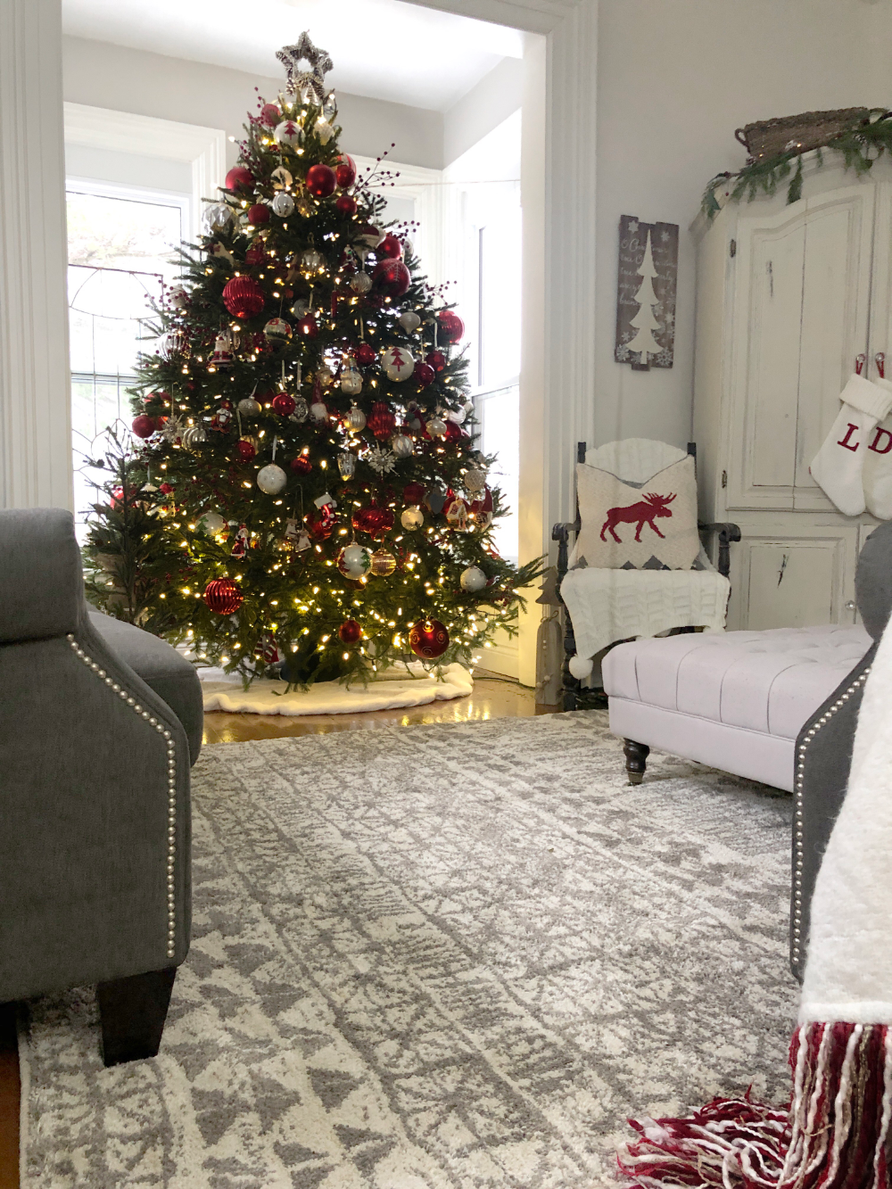 Simply Cozy Holiday Living Room Tour with Mohawk Holiday