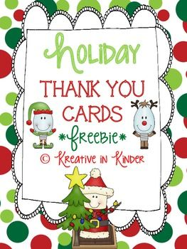 graphic relating to Christmas Thank You Cards Printable Free named Absolutely free Printable Xmas Thank Oneself Playing cards Towards Instructor