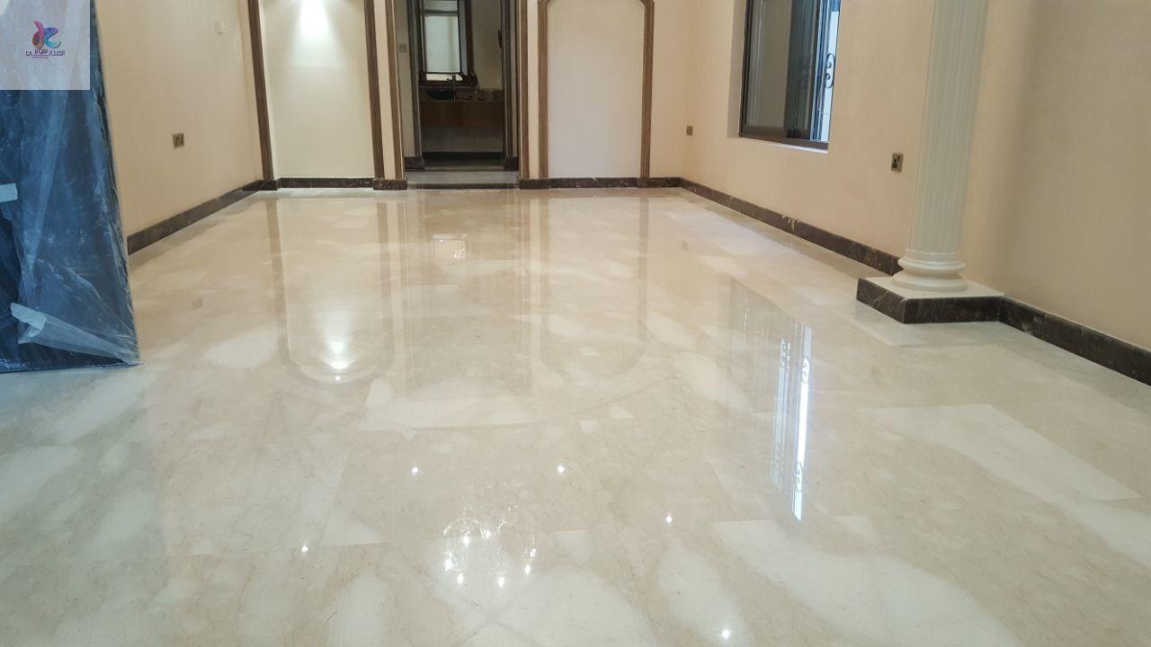 شركة جلي بلاط بالجبيل 0553960210 تلميع بلاط وارضيات Flooring Tile Floor Texture