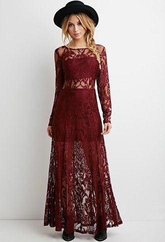 Lace Dress Forever 21