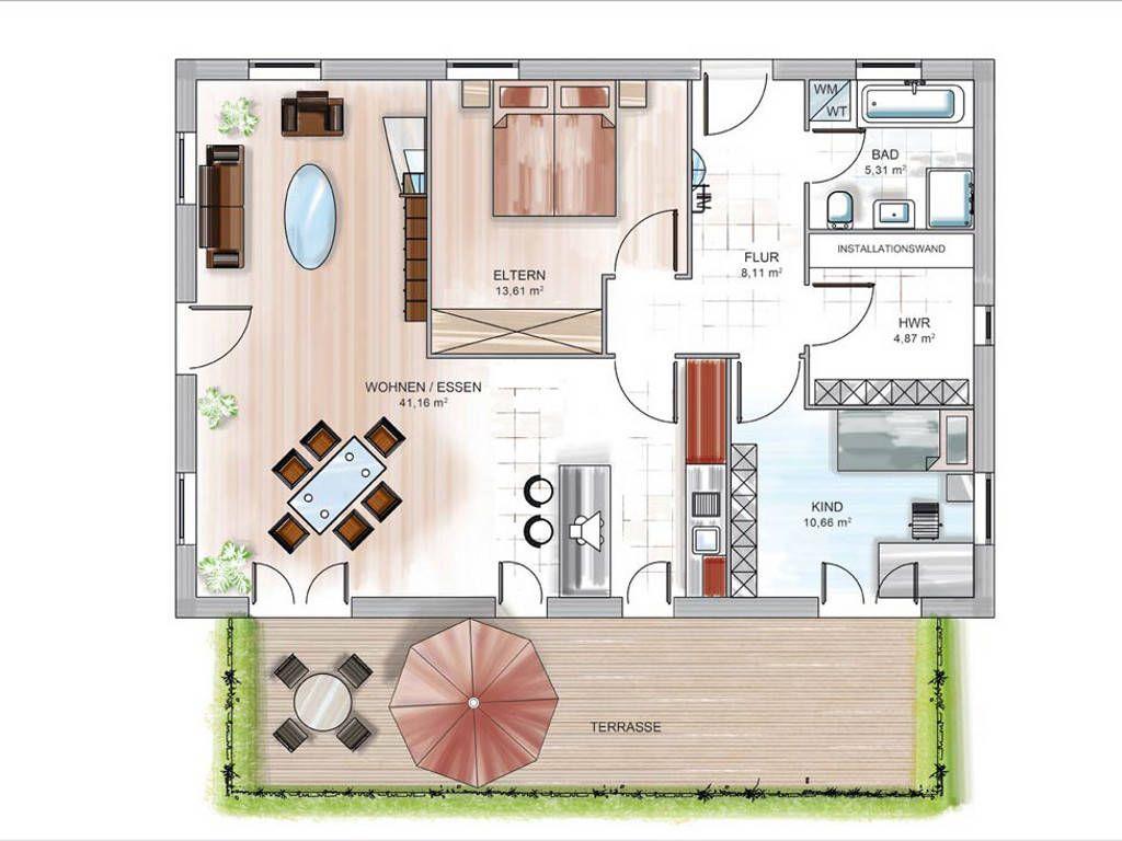 modulhaus icon bungalow grundriss h user pinterest massivhaus geliebt werden und. Black Bedroom Furniture Sets. Home Design Ideas