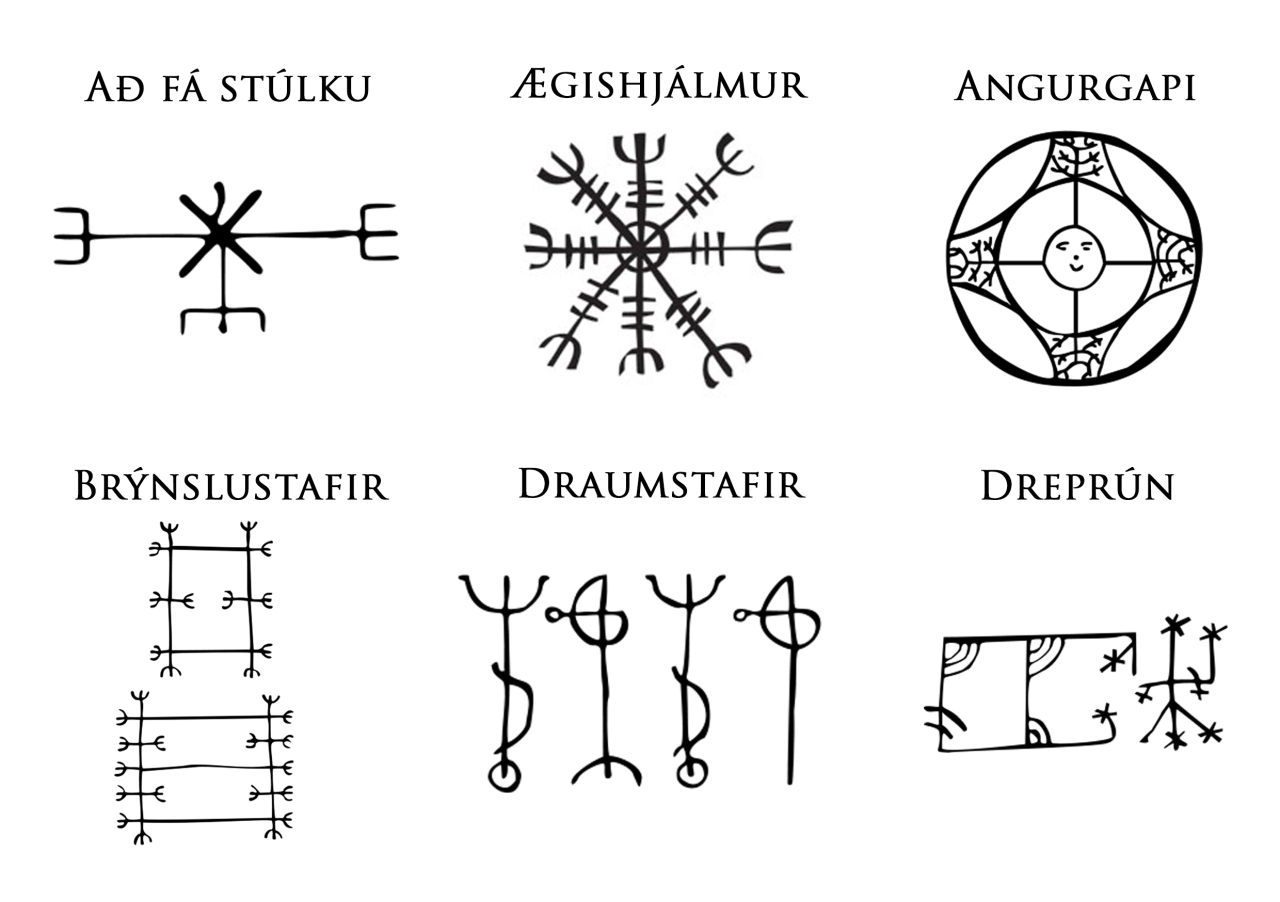 The icelandic magical stave lukkustafir symbol of luck alchemy the icelandic magical stave lukkustafir symbol of luck alchemy religion spirituality occultism tattoo art black and white stock vector pinterest biocorpaavc