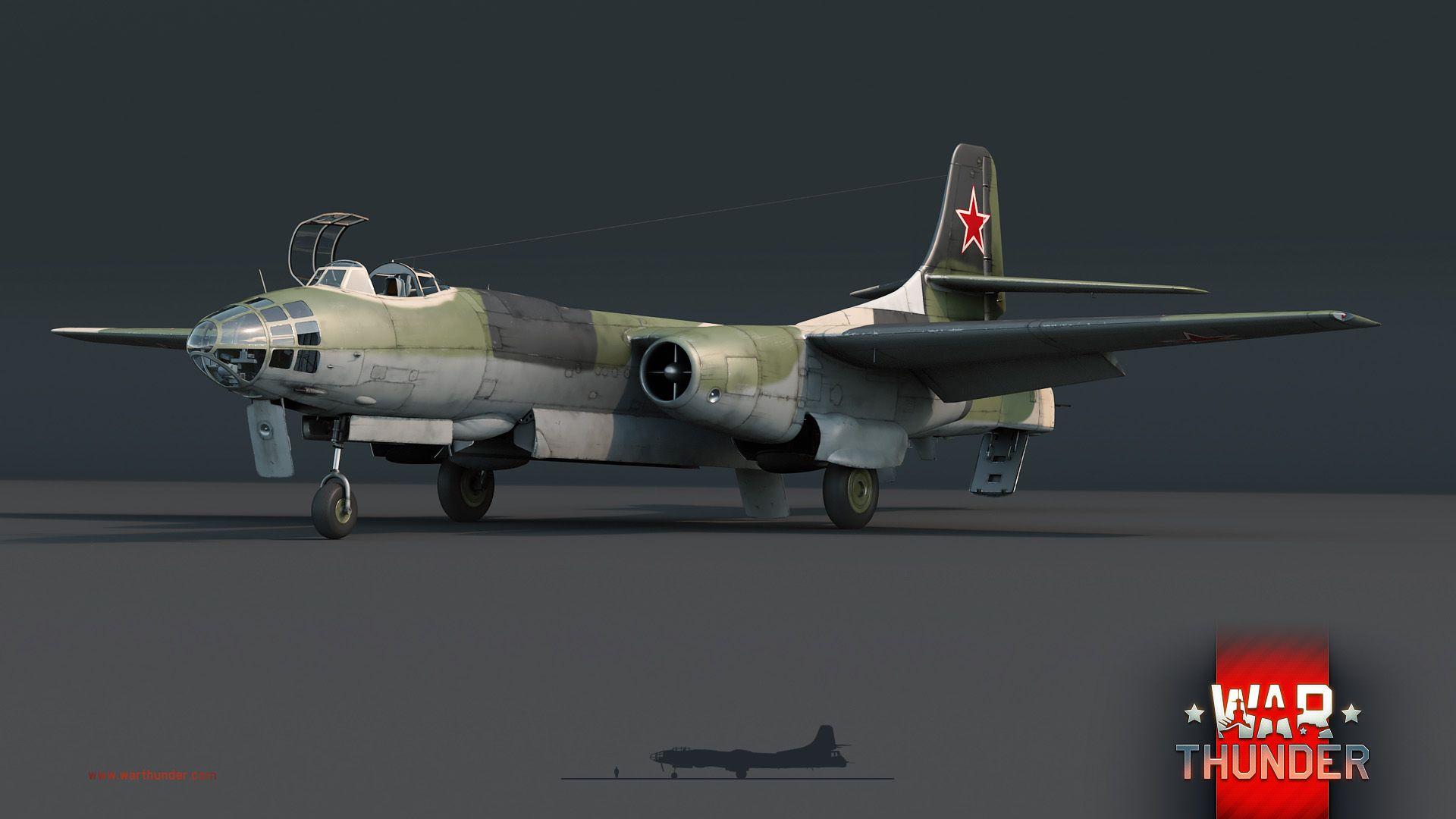 вар тандер русские бомбардировщики