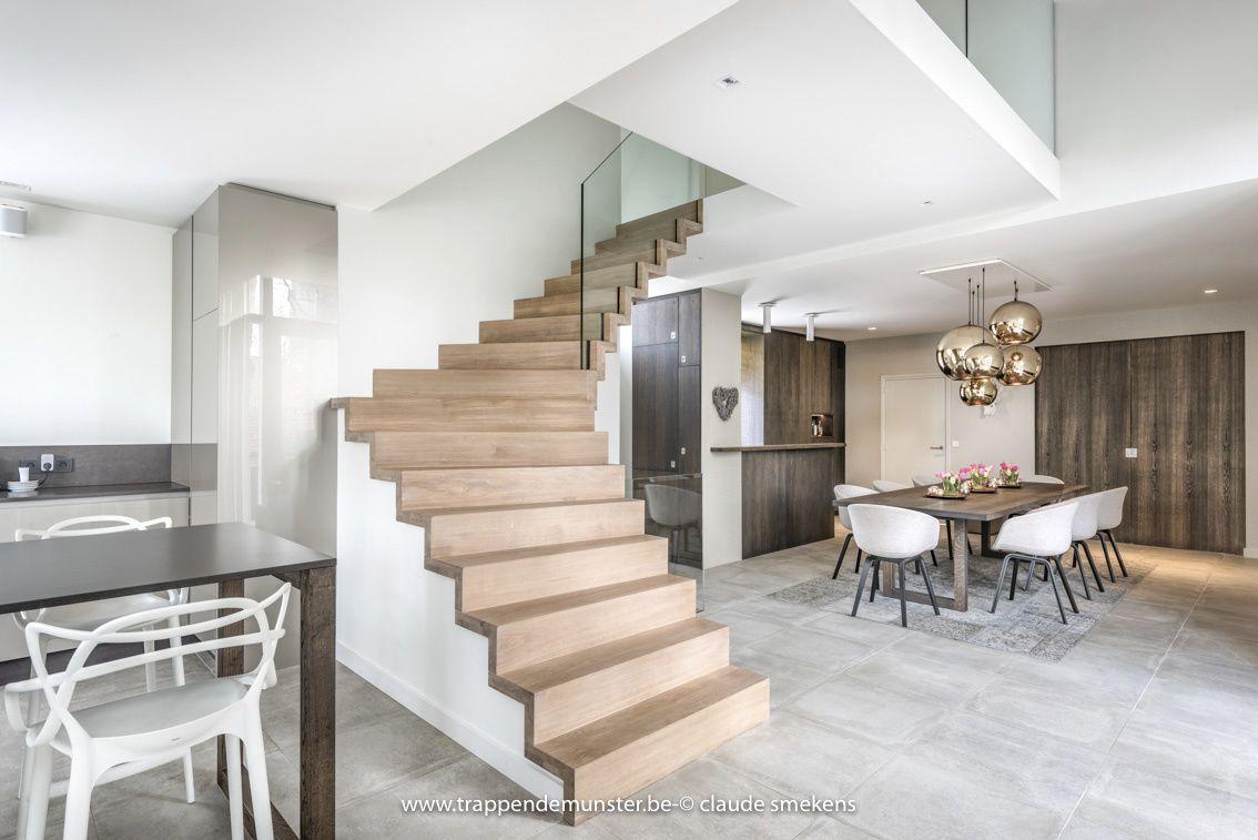 Trappen modern trappen demunster waterven heule trap trappen