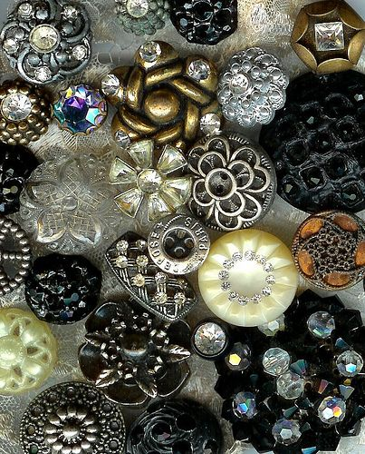 vintage buttons