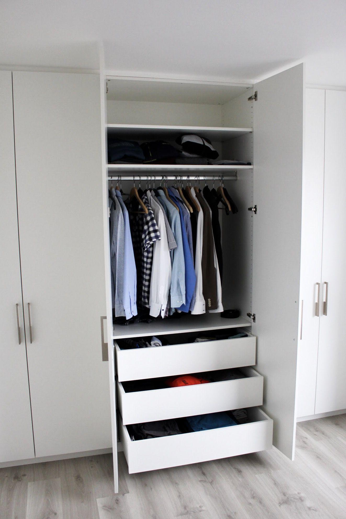Maatkasten Online Inbouwkast Dressing Op Maat White