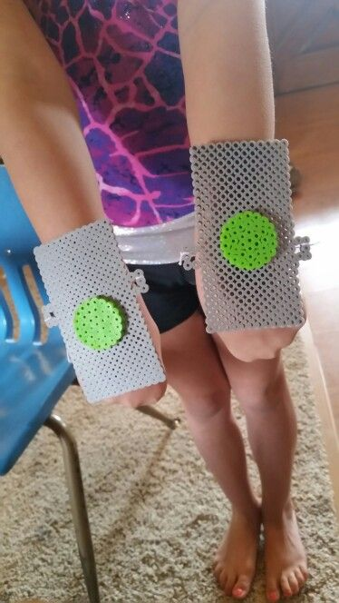 Bridget's Star fire wrist bands from Teen Titans Go