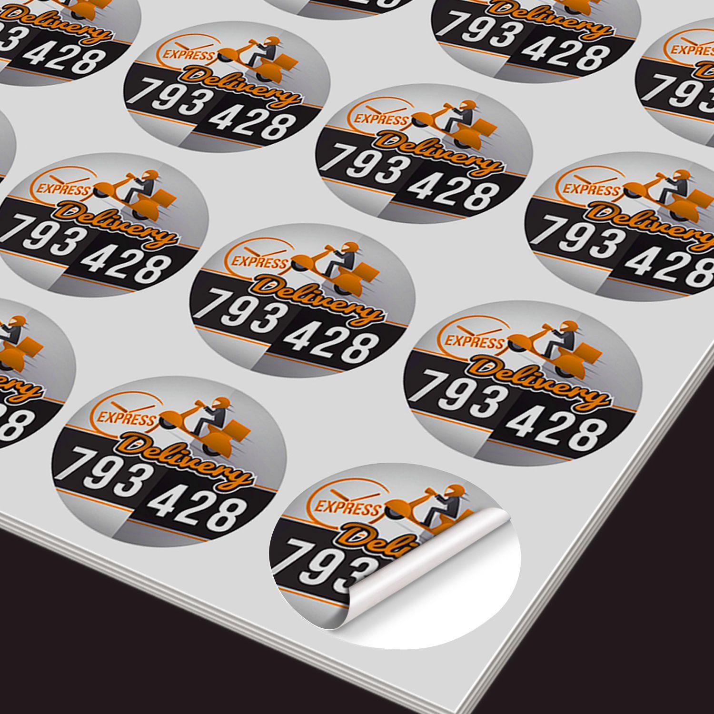 Custom Stickers - 500 qty 2