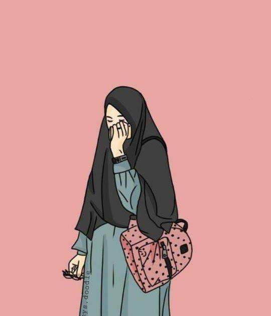 Paling Populer 30 Foto Kartun Muslimah Berpasangan