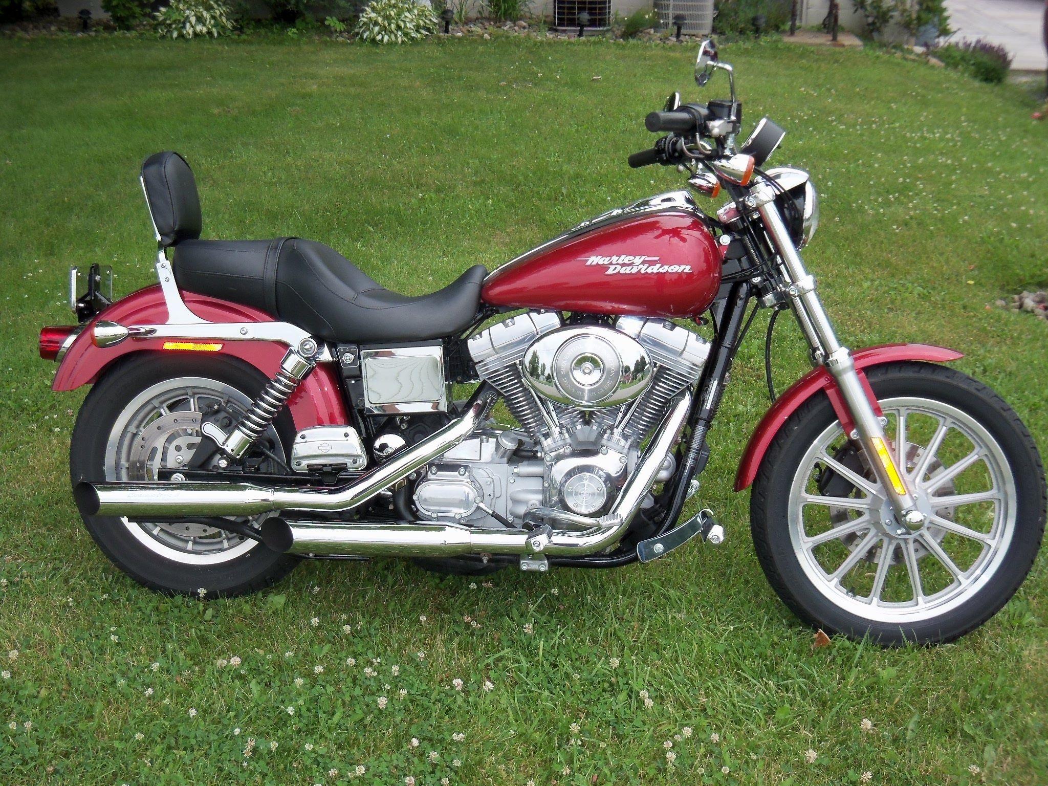 My Harley. 2004 Dyna Super Glide.