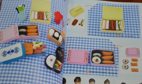 Making Creative Felt Kids Toys Japanese Craft Book (In Chinese)