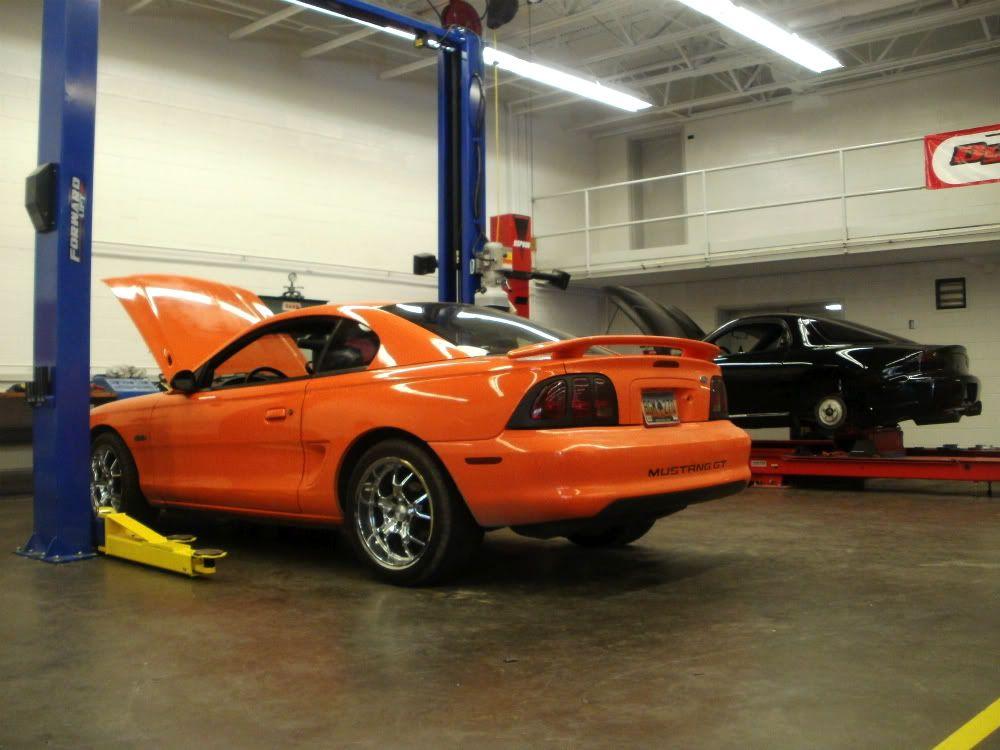 1996 Bright Tangerine Mustang Gt Sn95 Mustang Ford Mustang Gt Mustang Gt
