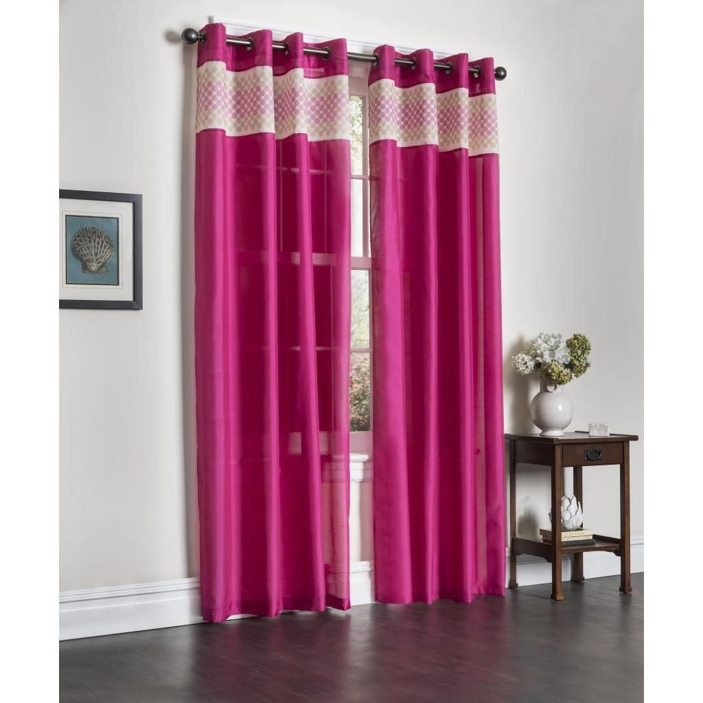 double rod panels emmett attached pocket designers pin rt curtain inch embroidered panel collection with