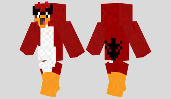 Angry Bird Skin Para Minecraft Minecraft Pinterest Angry Birds - Skins fur minecraft cool