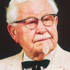 The Tragic Real Life Story Of Colonel Sanders Colonel Sanders People Yummy Cakes