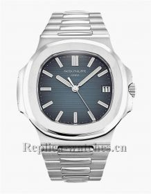 cf7acce11a6 Patek Philippe Nautilus Blue Dial 40MM 5711/1A - AAA Replica watches ...