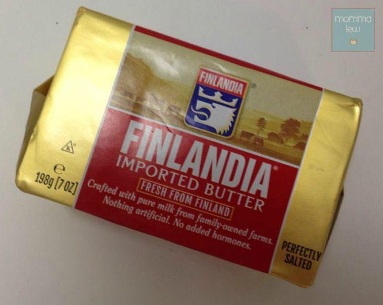 Finlandia imported butter plus a 25 shoprite gift card