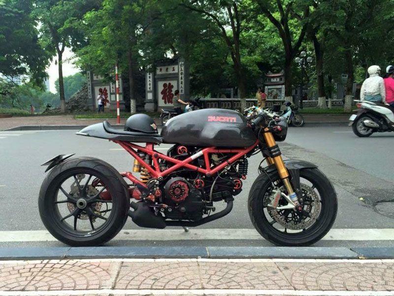 Cafe Ducati From Vietnam Ducati Monster Ducati Monster 1000