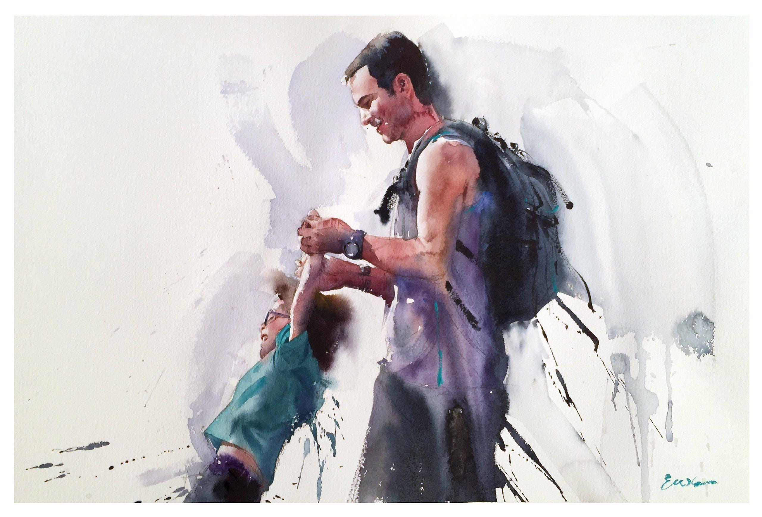 Hudozhnik Slava Prishedko Akvarelnoe Iskusstvo Akvarelnye