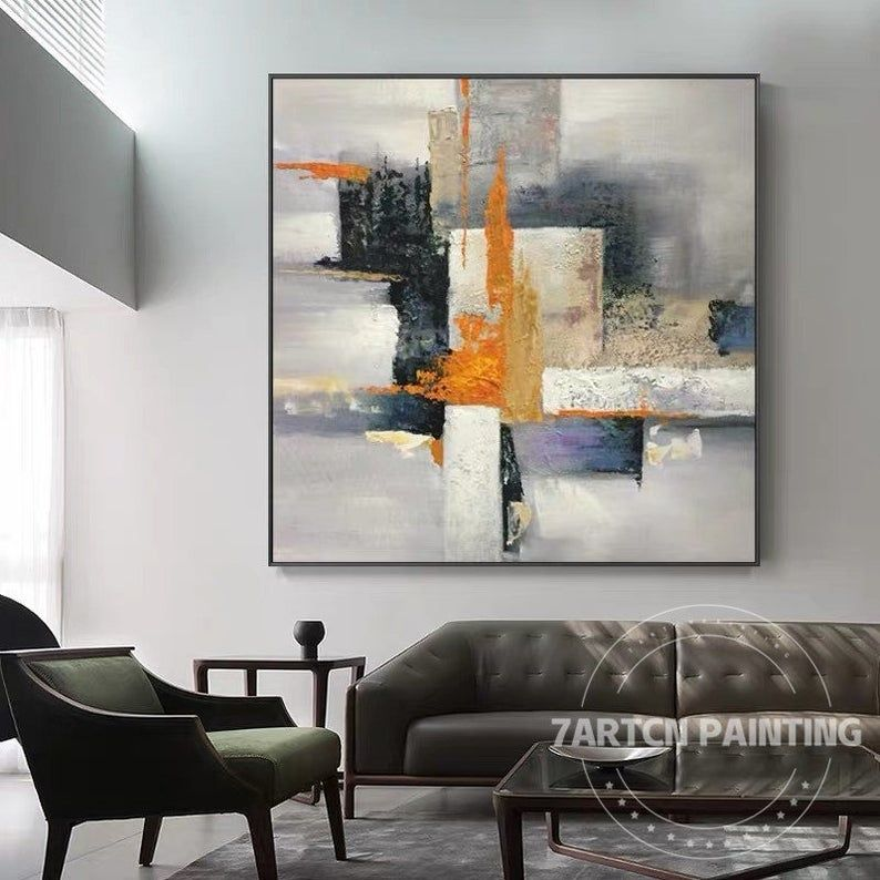 Abstract Painting Gray Nordic Style Original Canvas Acrylic Painting Extra Large Wall Art Pictures For Living Room Frame Painting Abstractos Abstract Canvas Painting Wall Art Pictures Abstract Painting