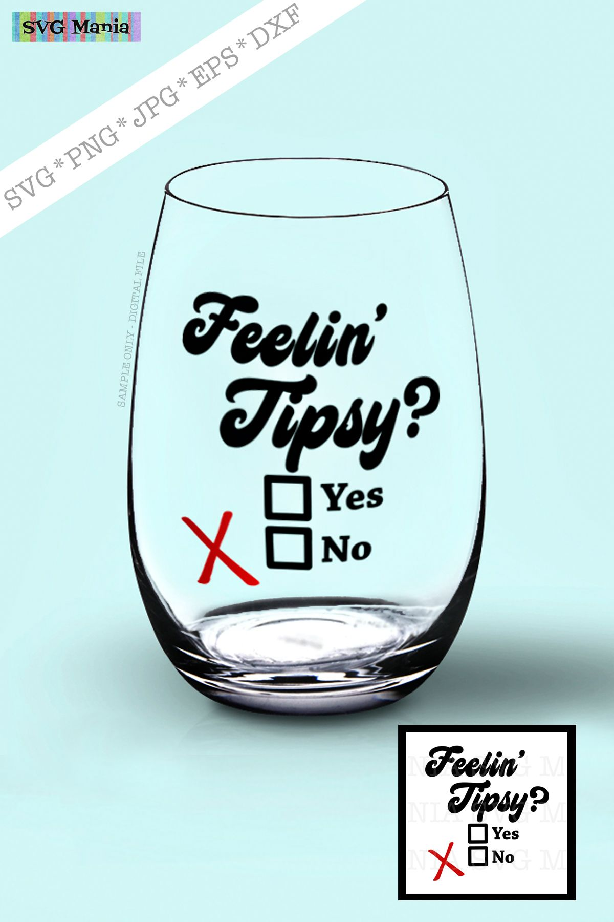 SVG Funny Wine Glass Saying, Wine Glass Decal SVG File