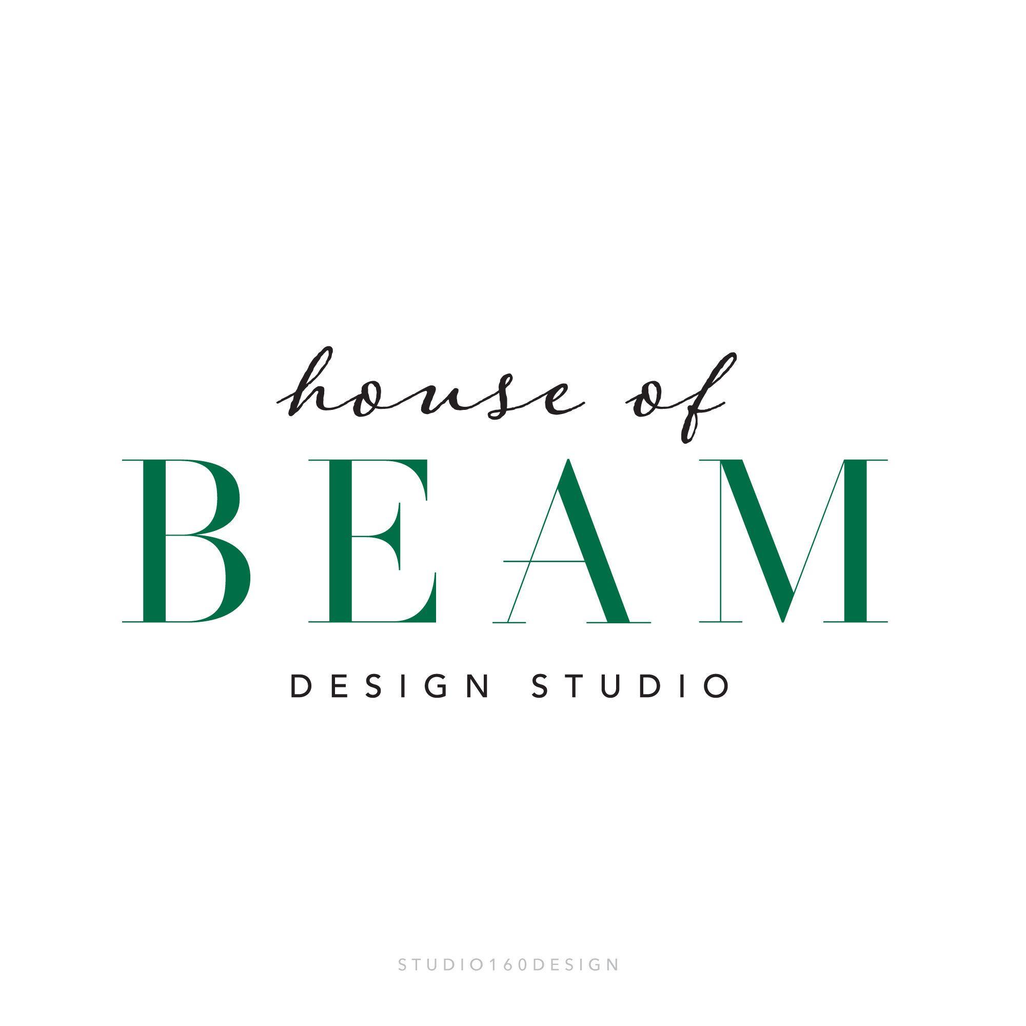 Interior Design Logo Interior Designer Marketing Custom ...