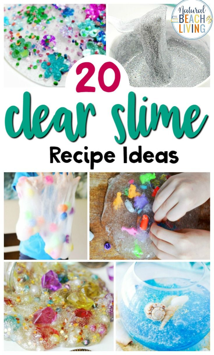 25 Clear Slime Recipe Ideas Including How To Make Clear Slime And Slime Videos You Can Learn About Slime Science Slime Recipe Clear Slime Diy Slime Recipe