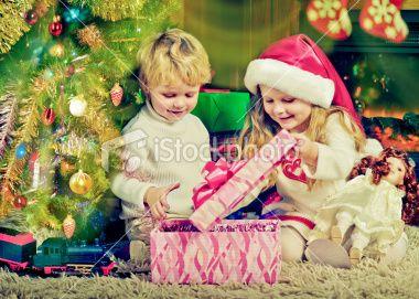 Christmas evening Royalty Free Stock Photo