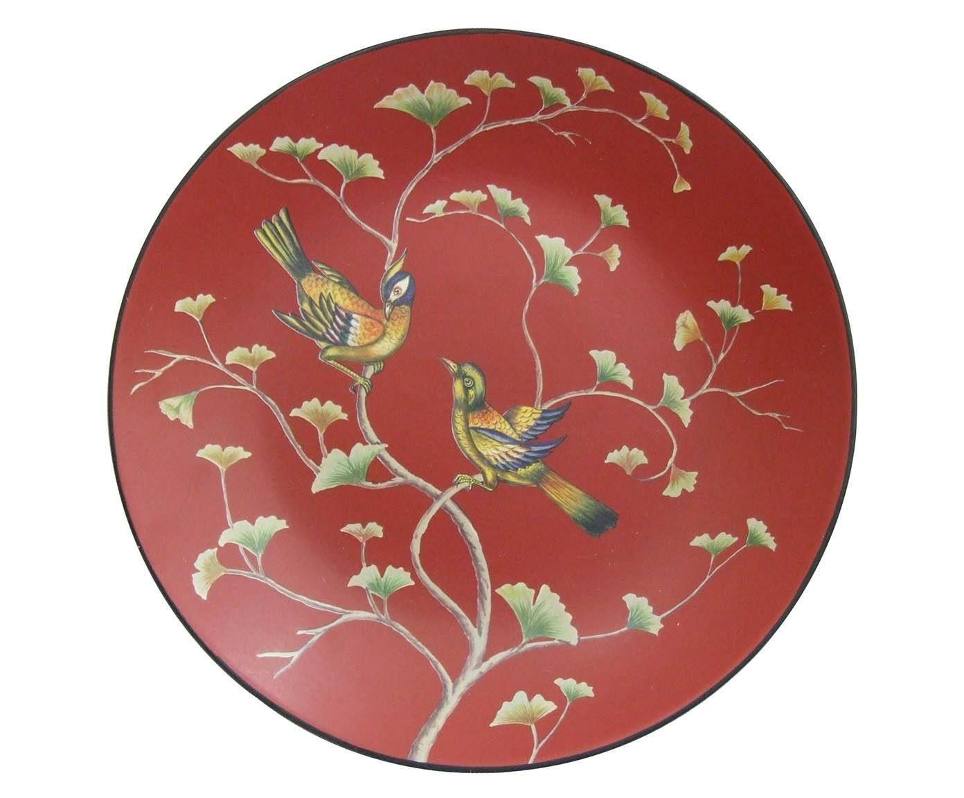Prato decorativo birds - 38cm | Westwing - Casa & Decoração