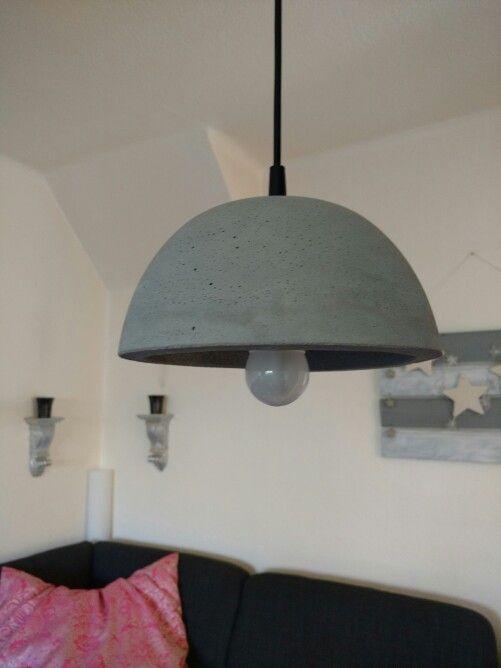 Cool Beton Lampe DIY