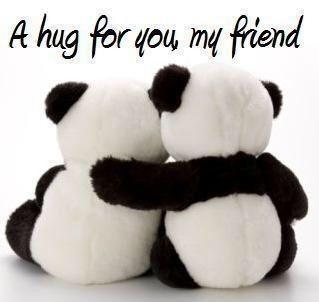 A Hug For You My Friend Bamse Citater Billeder