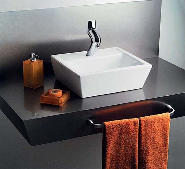 Ideas para decorar un baño de Visitas pequeño #Ideas #Decoracion