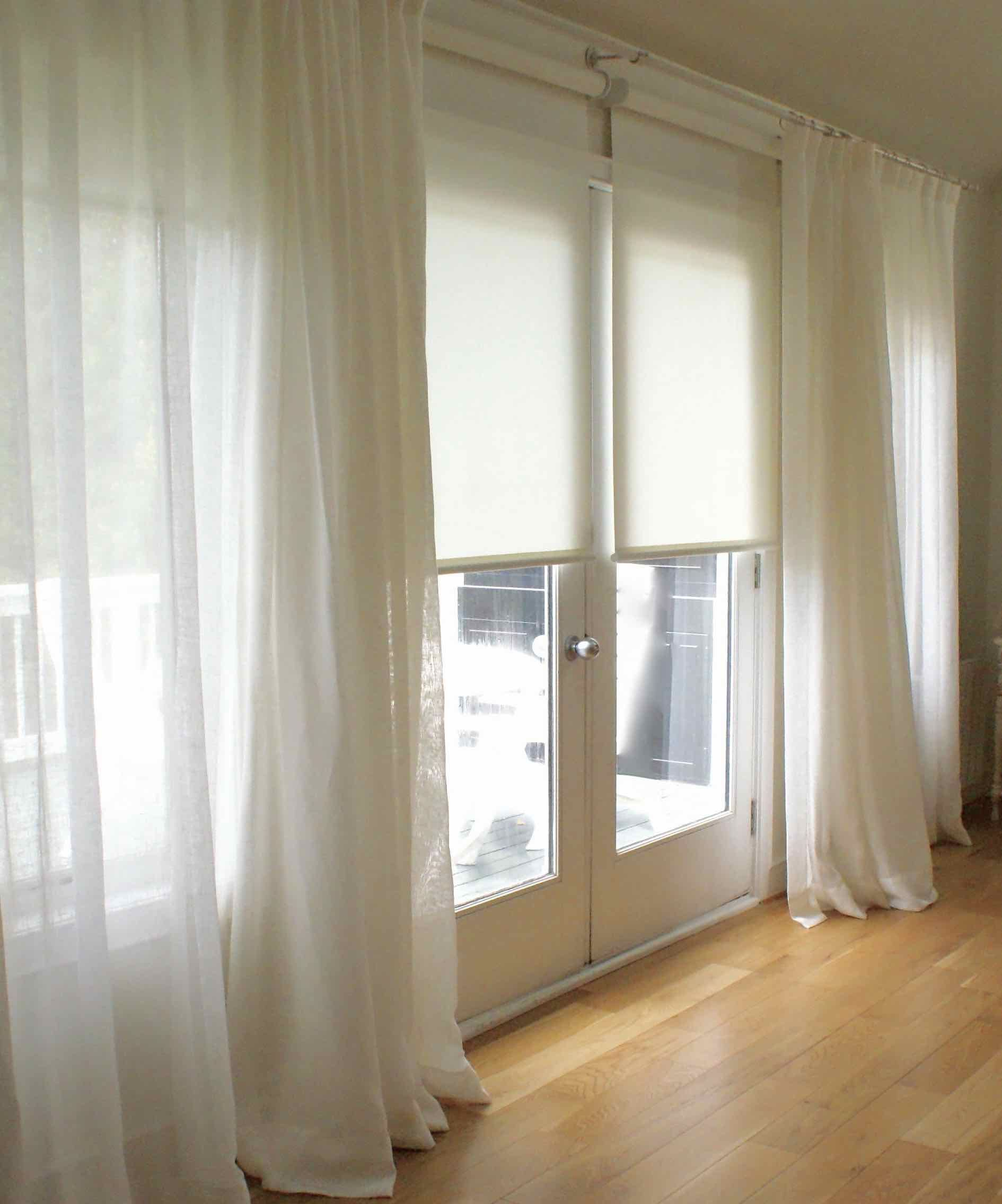 Cortina de gasa rollers cortinas y barrales for Donde venden cortinas baratas