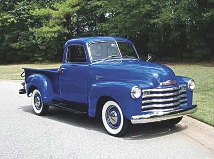 Carlson Cars Past 1950 Chevy Pickup Truck Classic Trucks Old Pickup Trucks Pickup Trucks